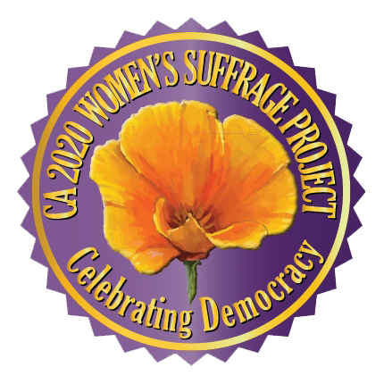 CA Suffrage Logo